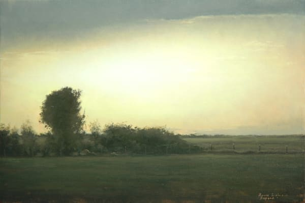 Shop for original paintings like Beyond, oil on canvas by Bruce Brainard at Matt McLeod Fine Art Gallery.