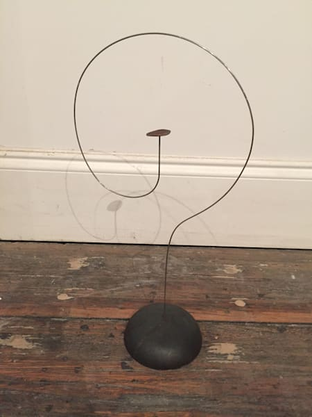 Shop for original sculptures like Floating Disk 11.6, metal, by Harry Loucks at Matt McLeod Fine Art Gallery.