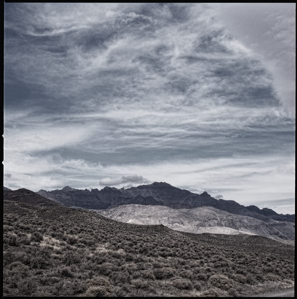 Alvord Desert – Steens Mountains fine art photograph for sale by Richard Stefani.