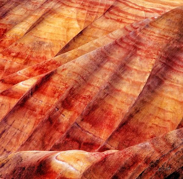 Richard Stefani's Painted Hills Detail 2 photograph – Stefani Fine Art