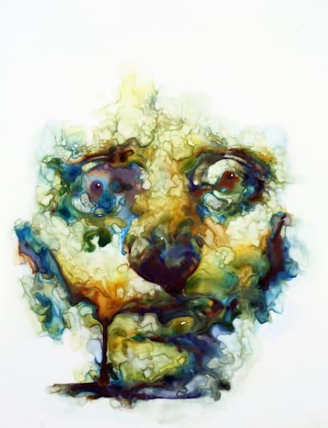 Insight- Modern Portraiture in watercolor by Akira Beard