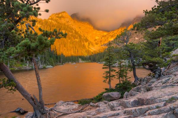 Dream Lake Sunrise 6087