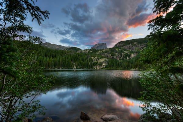 Hallett Peak at Sunset 6562