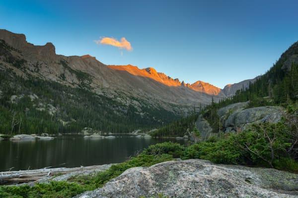 Mills Lake at Sunset 6962