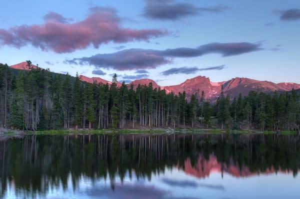 Sprague Lake at Dawn 6627