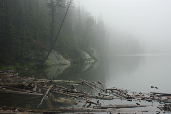 Odessa Lake in Fog