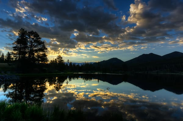 Sprague Lake Sunrise 6707