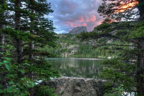 Hallett Peak at Sunset 6557