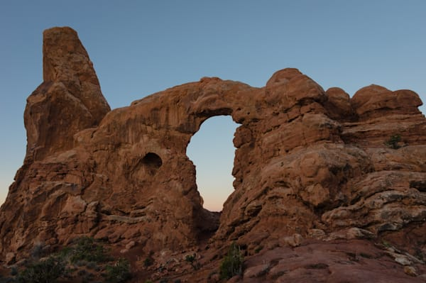 Turret Arch at Dawn