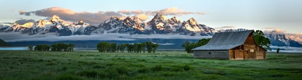 Teton Sunrise (panorama)