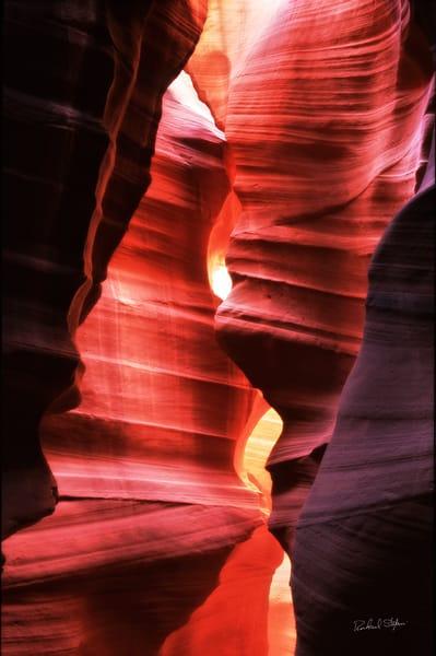 Slot Canyon 1 photograph by Richard Stefani