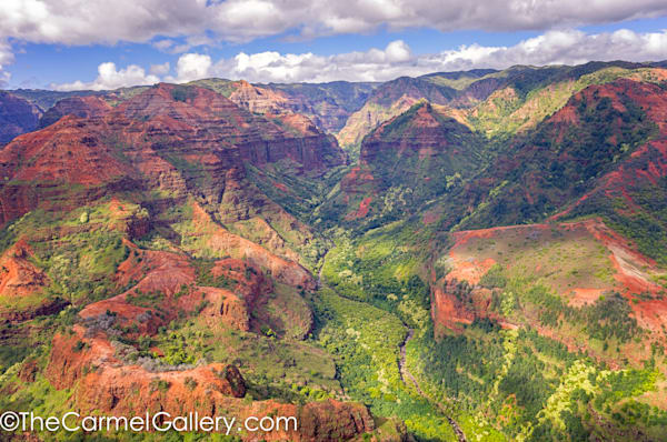waimea canyon photograph