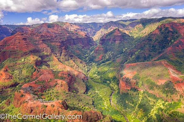 waimea canyon photograph