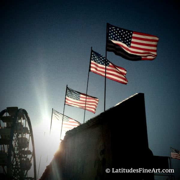 """""""Patriotic Sunburst"""""""