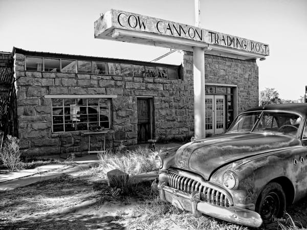 Yesterday – Cow Canyon Trading Post photograph by Christina Stefani