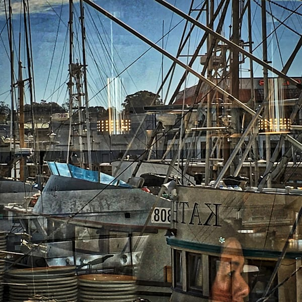 Interesting Fisherman's Wharf Photo for Sale. Richard London