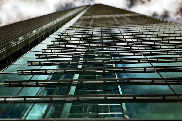 Epic Building Reflection Photo For Sale! Richard London