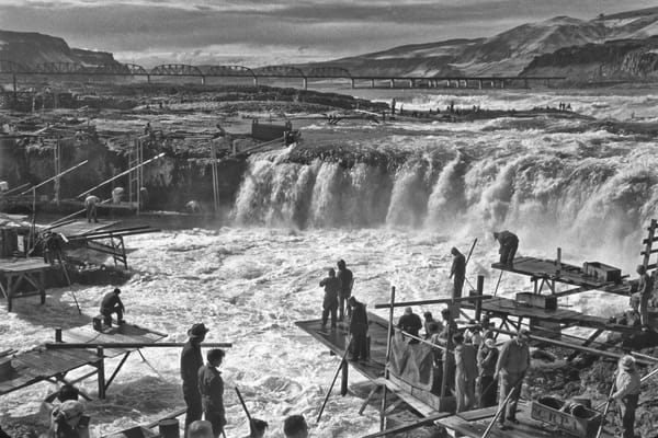 Celilo Falls Overlook photograph by Richard Stefani –Stefani Fine Art