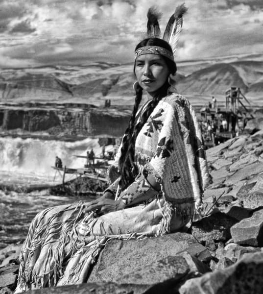 Celilo Falls 1956 photographs by Richard Stefani – Stefani Fine Art