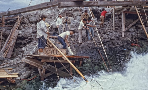 Celilo Falls 18 photograph by Richard Stefani –Stefani Fine Art