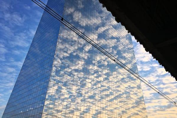 Gorgeous Cloud Reflections Cira Centre. Richard London