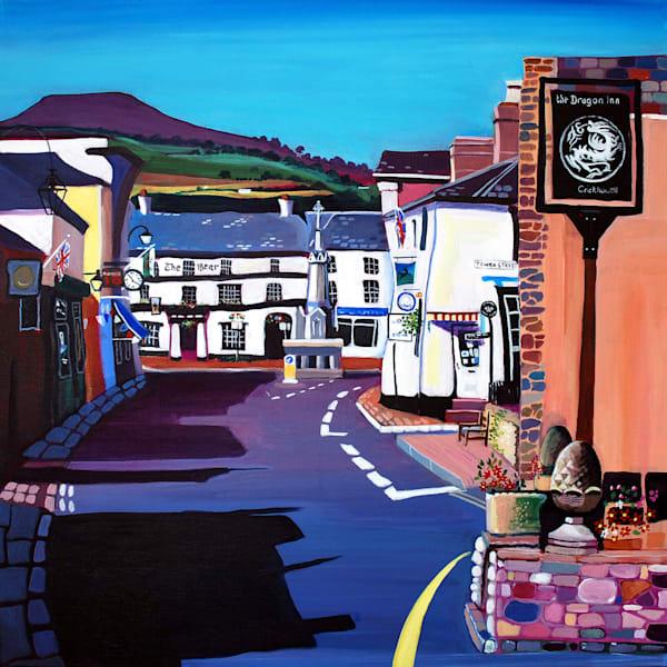 Fine Art Print Crickhowell Table Mountain