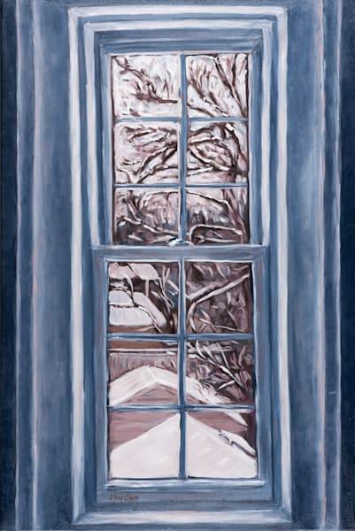 Studio Window Winter View