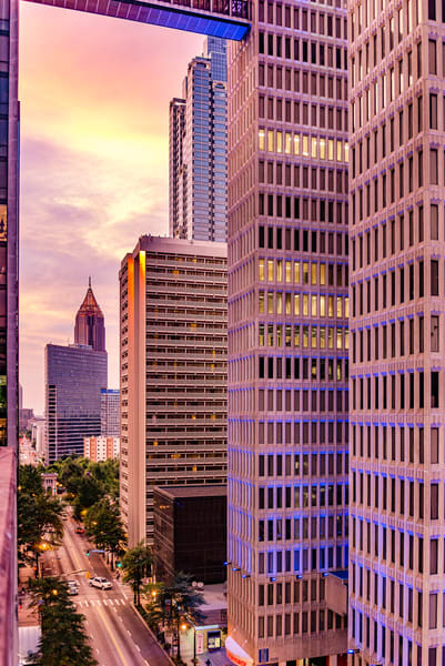 Sunset in the City [Atlanta] | Susan J Photography | Shop Prints