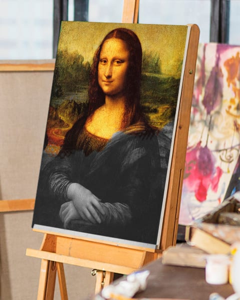 Mona Lisa by Da Vinci | You Paint the Masters