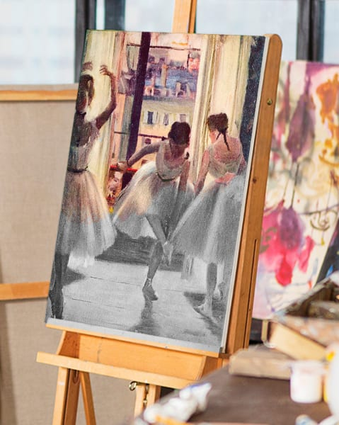 Three dancers by Degas   You Paint the Masters