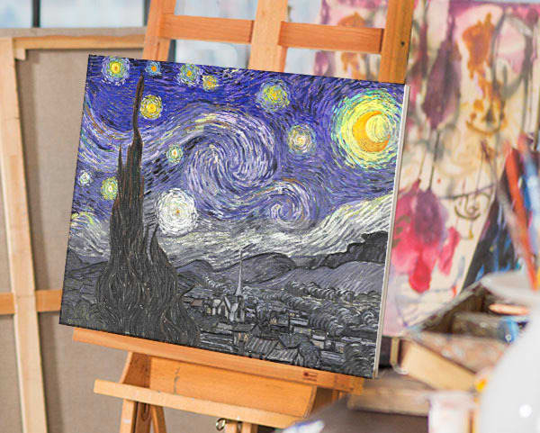 Starry Night by Van Gogh | You Paint the Masters