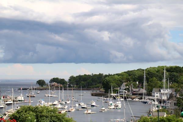 Camden Maine Harbor art photograph