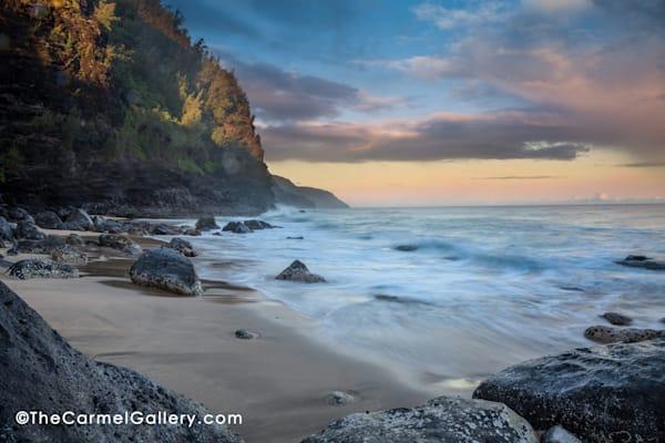 Kauai Napali coast, Kauai beach, Sunrise Kauai