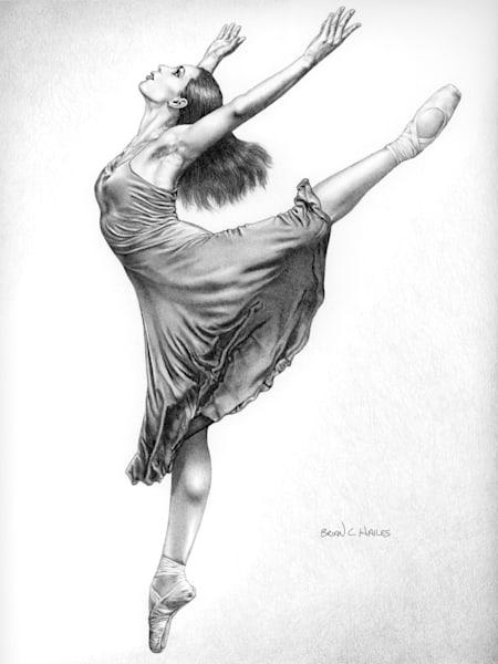 Expression ballet art print