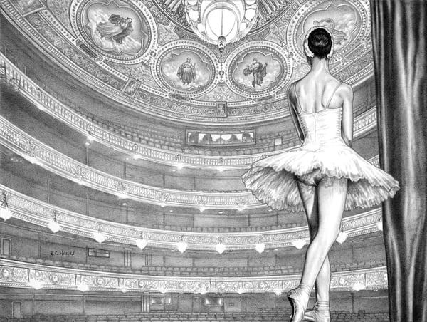 Theatre dance print