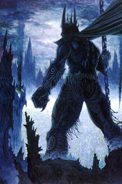 The Gorbane King fantasy art print