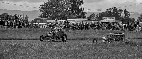 Historic Drag Racing 1965 photograph by Richard Stefani