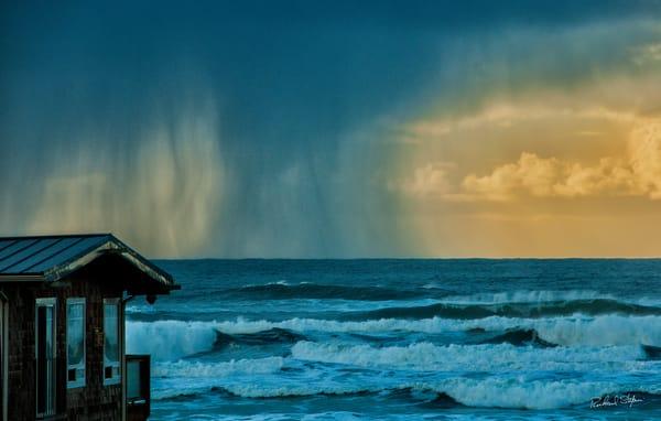 Approaching Storm – Cannon Beach photograph by Richard Stefani