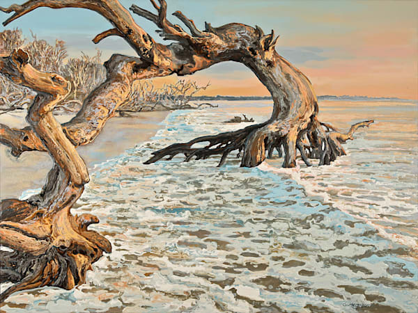 Running Against the Tide | Contemporary Landscapes | Gordon Meggison IV