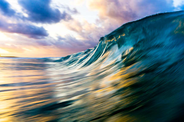Hawaii Wave Photography | Sunrise Dance by Matt Kwock