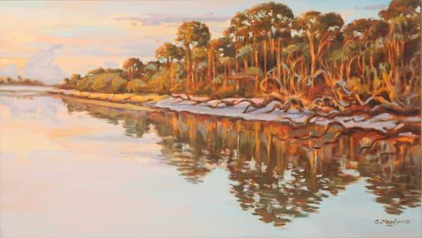 Ft George River   Contemporary Landscapes   Gordon Meggison IV
