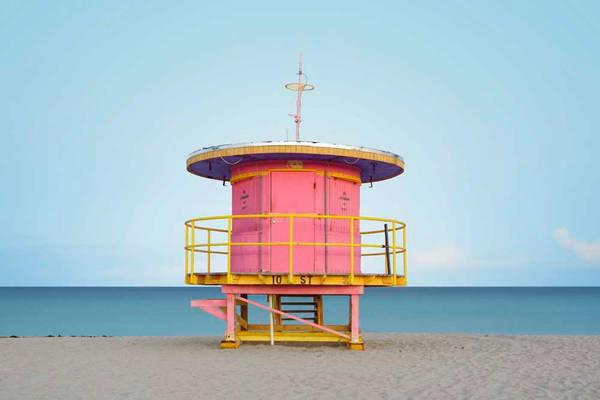 Pink House Photography Art | DE LA Gallery