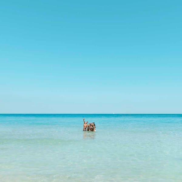 Ocean Selfie Photography Art | DE LA Gallery