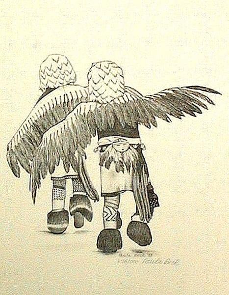 Eagle Dancers | Manning-Lewis Studios, LLC.