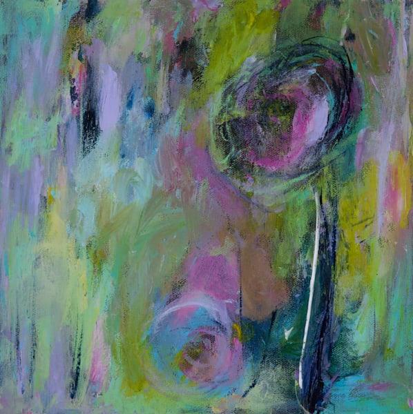 Spring Flowers I 10 x 10 - Original