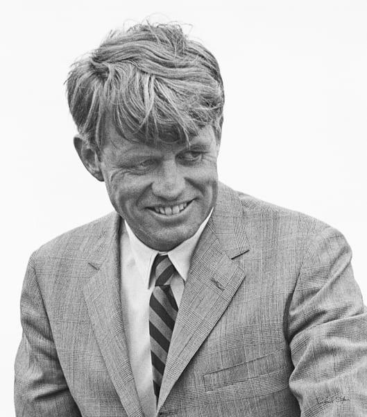 Robert Kennedy – a Candid Portrait 1968 photograph by Richard Stefani