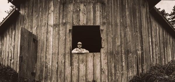 Portrait of Jay Dusard photograph by Richard Stefani