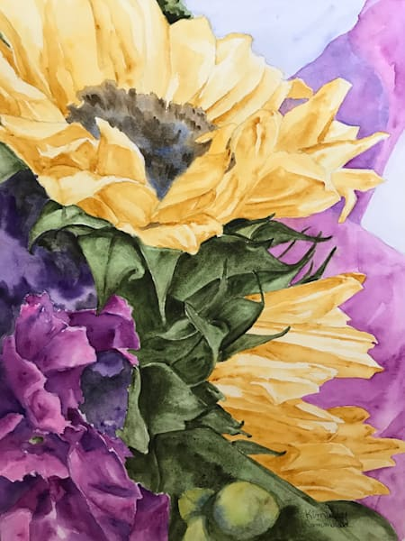 Paintings of sunflowers for sale | Kimberly Cammerata