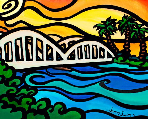 Sunset Haleiwa Art | Swim Whimsey