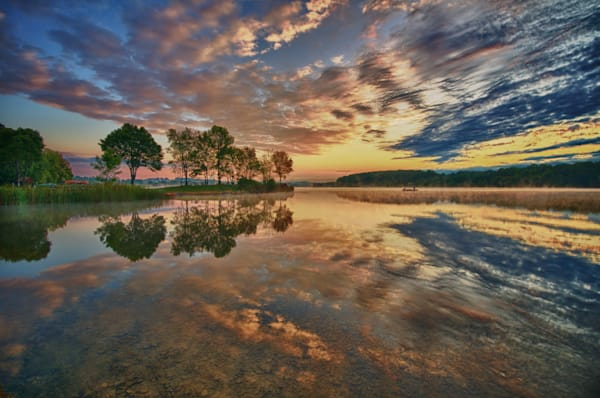 Marsh Creek Sunrise #2 Fine Art Photograph | JustBob Images